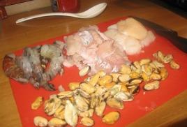 Марсельская уха (Bouillabaisse)